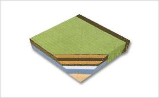 ソフト素材の畳床