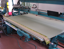 畳の製作現場