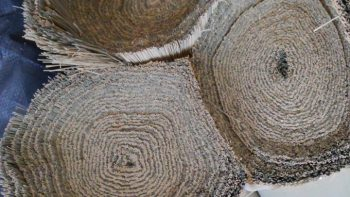 仙台の畳襖リフォーム店・畳のナカジマ(熊本産畳表の年輪)