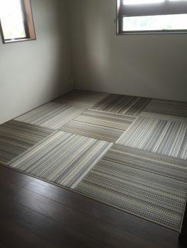 仙台市泉区、富谷町の畳・襖・障子・クロスのナカジマ(へりなしアースカラー)